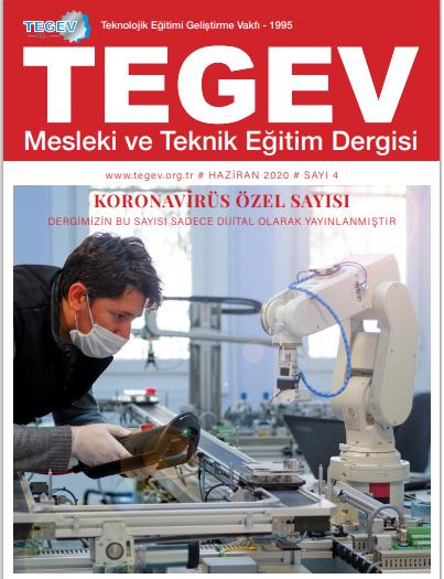 """TEGEV Dergimizde özel dosya: """"Korona Günlerinde Meslek Liseleri"""""""